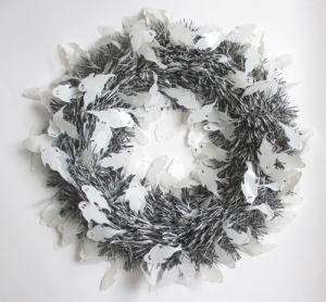 Metallic Wreath Garland for Halloween Decoration
