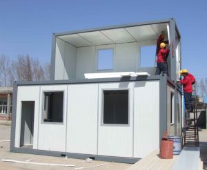 Two-Story Combined Container House Living House