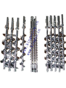 Screws for Venting Extrusion Line