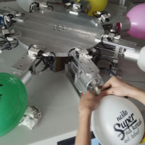Flatbed Balloon Screen Printer Machine pictures & photos