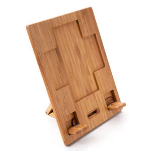 Bamboo Adjustable Holder for iPad or Tablet PC pictures & photos