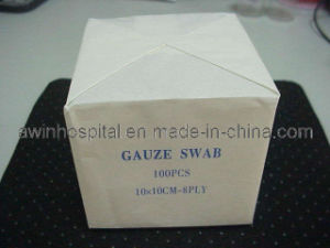 Unsterile W/O X-ray Gauze Swab pictures & photos