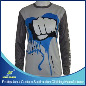 Custom Sublimation Printing Lacrosse Long Sleeve Shooter pictures & photos