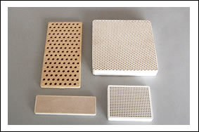 Thermal Storage Honeycomb Ceramic, Heat Exchanger pictures & photos