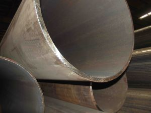 API 5L /SANS719 GR. B 610mm*17.48mm (SCH 40) ERW Steel Pipe pictures & photos