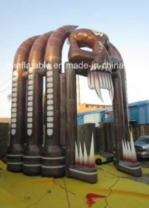 Outdoor Decoration Inflatable Halloween Skull Arch pictures & photos