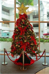 Mall and Hotel Indoor LED Christmas Tree Decoration