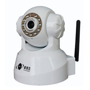 Home Wireless IP Camera with Pan/Tilt, 3.6mm Fixed Lens (ZCJ-21BD13604WIP)