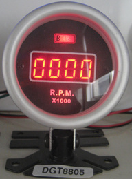 2′′ (52mm) Digital Display Tachometer Gauge