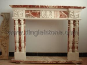 Marble Carved Stone Fireplaces