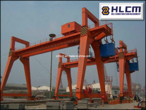 Precast Yard Gantry Crane 04 with SGS pictures & photos