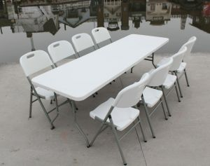 8-Foot Outdoor Banquet Folding Table (SY-240Z) pictures & photos
