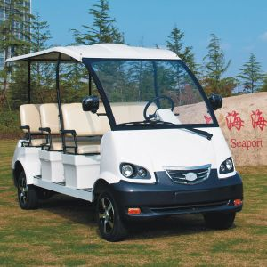 CE Approve 8 Passenger Battery Powered People Carrier (DN-8) pictures & photos