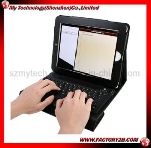 Leather Case for iPad2 With Bluetooth Keyboard (MIPAD2-K001)