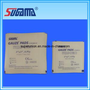 Bleached Sterile 100% Cotton Gauze Pad pictures & photos