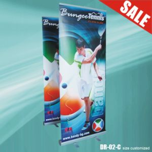 Customed Retractable Rollup Banner Stands (DR-02-C) pictures & photos