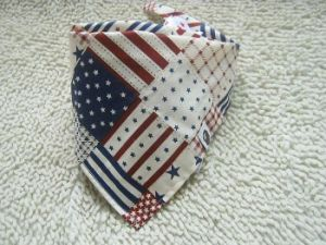 Customized Flag Printed Fashion Baby Triangle Bandana Triangle Neck Scarf (BO835) pictures & photos
