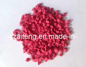 EPDM Granule (JTXD-1108 Bright Red) pictures & photos