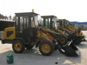 Front End Mini Wheel Loader, Mini Loader with CE pictures & photos