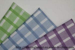 CVC Yarn Dyed Dobby Check for Shirts pictures & photos