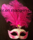 Muliti-Color Personal Decoration Turkey/Ostrich Venice Feather Mask pictures & photos