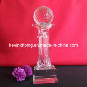 Crystal Golf Trophy (CT040)