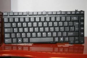 for Toshiba Satellite A300 Series Sp Laptop Keyboard (Black)