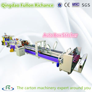 Automatic Stitcher Machine with Folder Part for Box Making pictures & photos