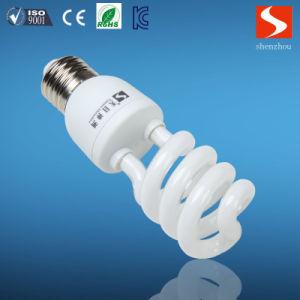 Half Spiral T3 23W Energy Saving Lamp, CFL Bulbs, E26/E12 pictures & photos