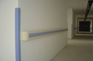 China Hospital Building PVC Corner Guard pictures & photos