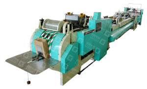 GYHD-330 Roll Feeding Square Bottom Paper Bag Making Machine pictures & photos
