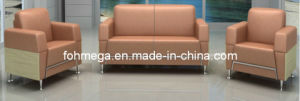 Cheap PU Sofa Office Sofa Loby Sofa Set (FOH-8016) pictures & photos