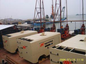 Vhp300e Ingersoll Rand Portable Compressor, Motor Drive Compressor, Doosan Mobile Compressor, Electric Drive Compressor