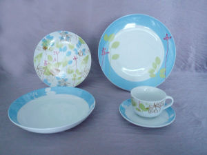 Children Porcelain Coupe Dinnerware Set