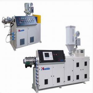 Vacuum Calibrating Method Pre-Insulated Pipe Extruder Machine pictures & photos