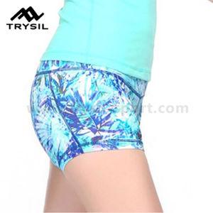 2017 New Arrival Women Sport Wear Compression Short Pants pictures & photos