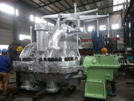 Extraction Back Pressure Steam Turbine (CB25-8.83/0.981/0.118)