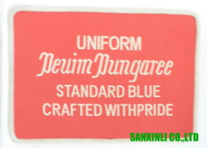 Polyester Woven Labels Garment Main Labels