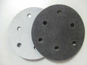 Silicon Carbide Velcro Sanding Disc (velcro or PSA)