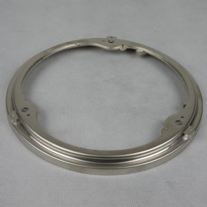 Polish Stainless Steel Ring Parts Die Casting Flange pictures & photos