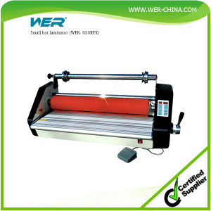 Good Price Small Hot Laminator (WER- 650RFX) pictures & photos
