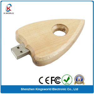 Distinctive Wooden Heart USB Flash Disk (KW-0211) pictures & photos