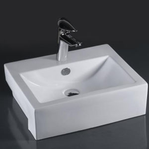Unique Porcelain Bathroom Vessel Sink (6025) pictures & photos