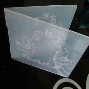 Darice Type Silimar Embossing Folders