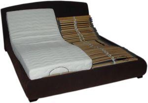 Slat Birch Wood 4 Zones Adjustable Bed with Electric Okin Motor (comfort580) (COMFORT580) pictures & photos