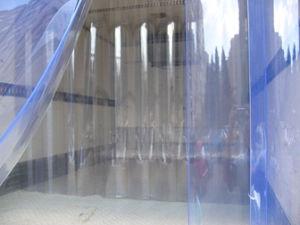 Transparent Plastic PVC Strip Curtain/Flexible PVC Extrusion