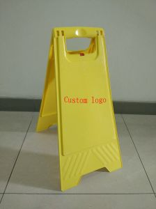 Sign, PP Floor Warning Sign, Custom Logo Signs pictures & photos