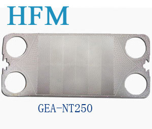 Gea Replaced Nt250 Plate Heat Exchanger Plates