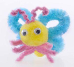 Beautiful Butterfly DIY Pompom Toy (LPP-43)