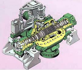 Backpressure Steam Turbine (Adopt German Technology)